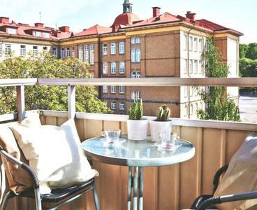 Tvårummare med balkong i söder - Gothenburg