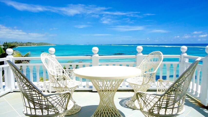 Beach front Villa Ocean View - Palmar - วิลล่า