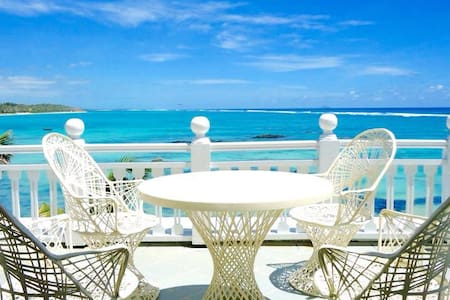 Beach front Villa Ocean View - Palmar