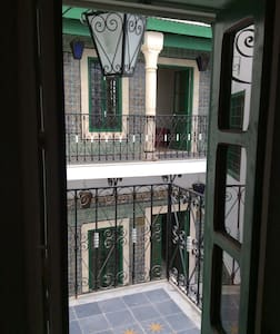Typical 17th house, Medina of Tunis (Verde)