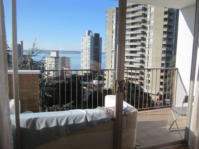 Female only private room with ocean view in W.Van