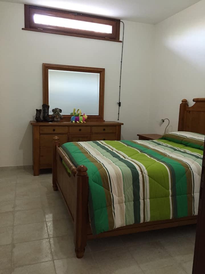 Comfortable mini apartment.
