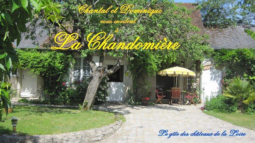 Gîte de charme La Chandomière - Mer, Loir-et-Cher - House