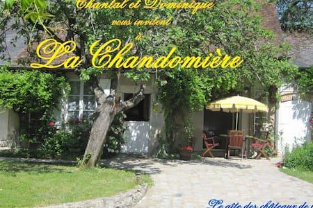 Gîte de charme La Chandomière - Mer, Loir-et-Cher