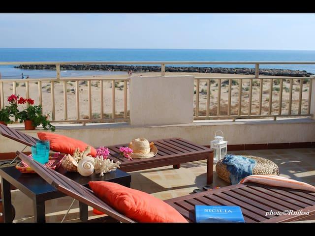 Casa sulla spiaggia - Donnalucata - Appartement