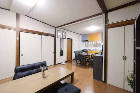 L1:新開!房子可供私人使用,最多可容納8人,靠近溫泉
