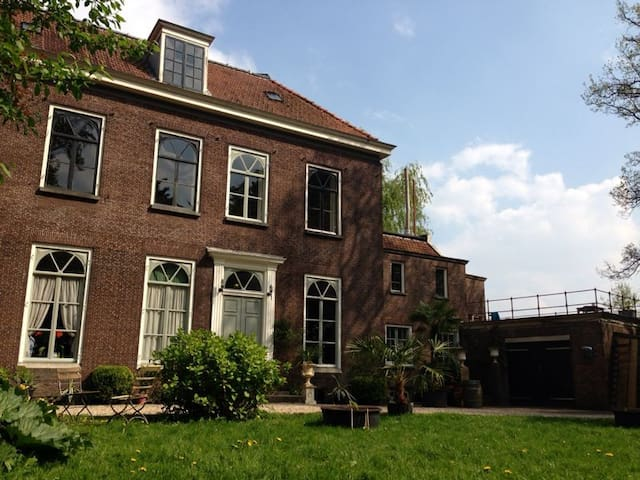 uniek appartment in landhuis - Oud Zuilen - Cabin