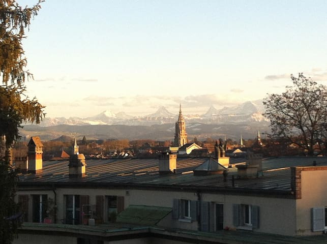 Apartment with great view - Bern - Lejlighed