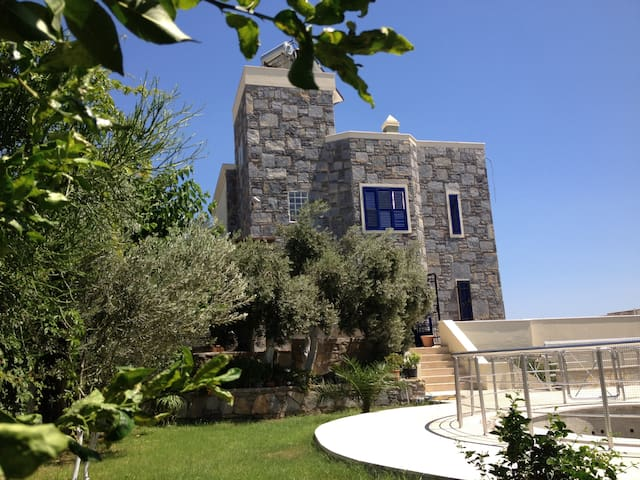 Luxury 5 bedroom house in Bodrum - Bodrum - Talo