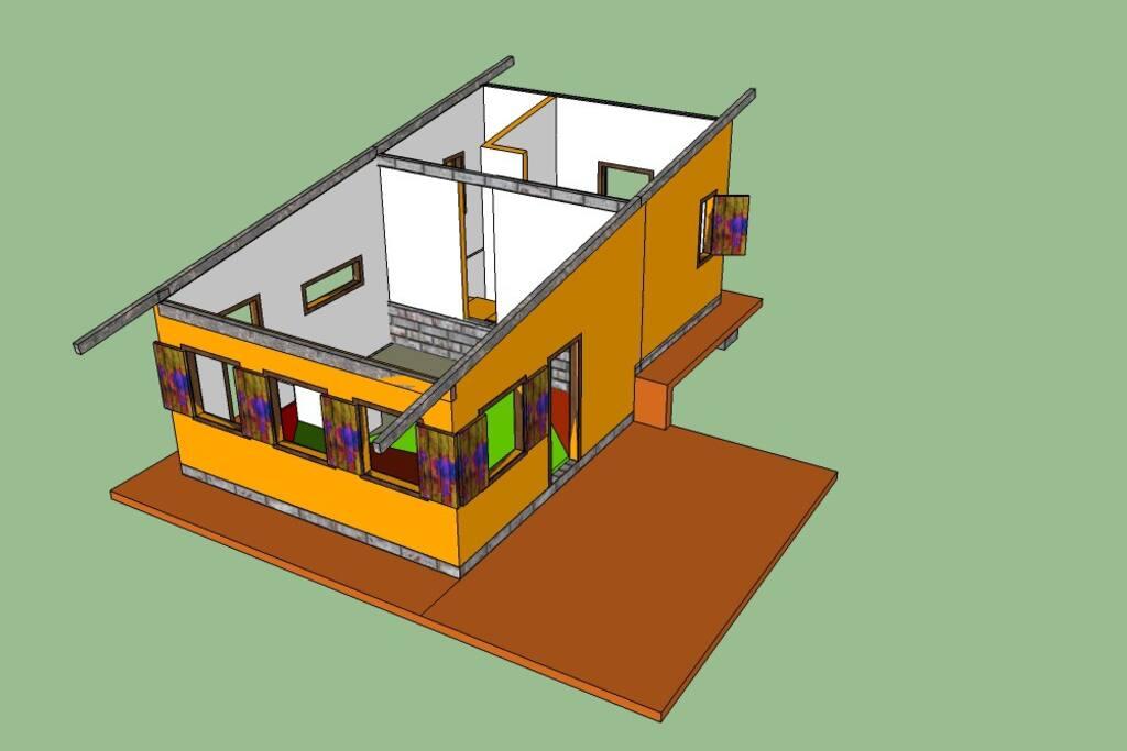 Desenho original - projeto 3D