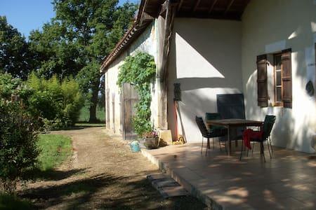 Groot vakantiehuis ( 4 pers.) Gers/MidiPyreneeën. - Saint-Julien-d'Armagnac - Hus