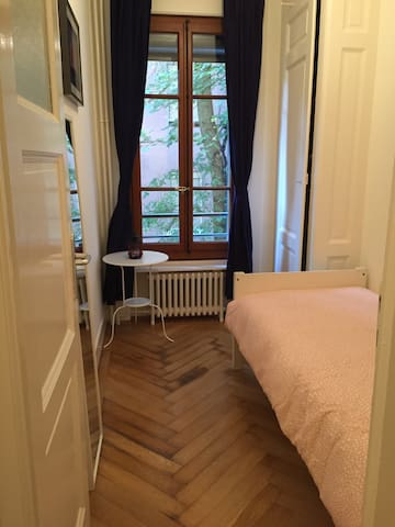 Nice Privateroom close to Jet D'eau, Lake,Old City - Genève - Lägenhet