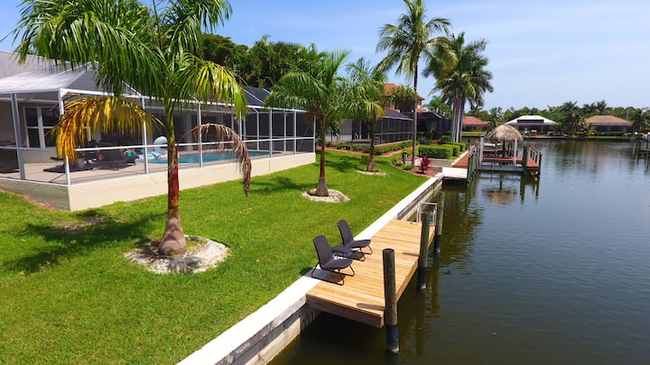 Flirty Flamingo Gulf Access Cape Coral Home