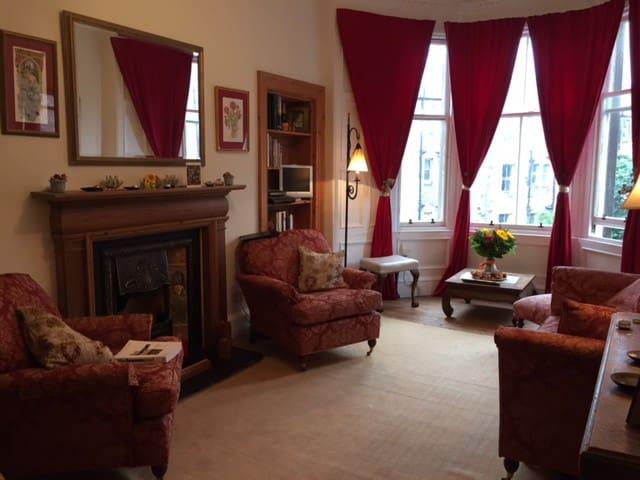 Attractive and spacious Morningside flat - Edynburg - Apartament