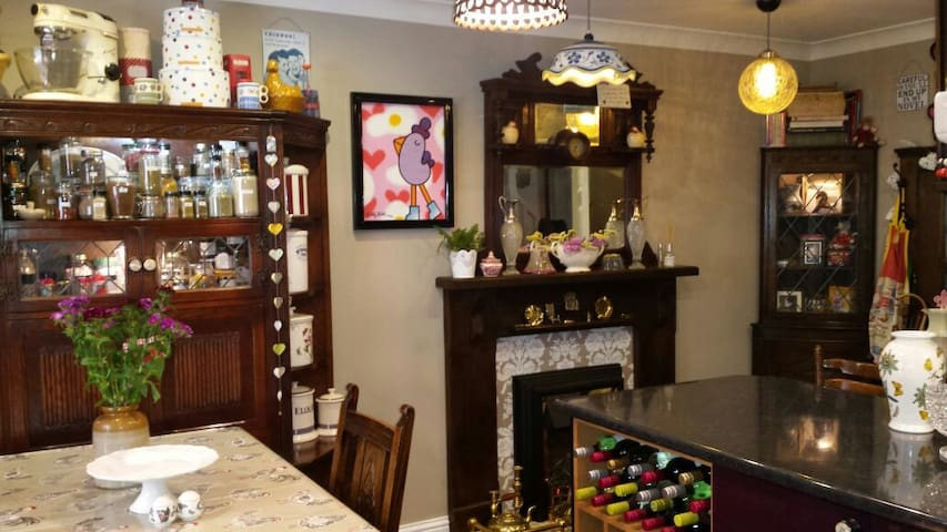 Quirky retro town house in Daventry - Daventry - Bed & Breakfast
