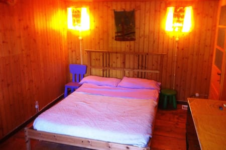 Kind room in rustic cottage - Castellania - Hus