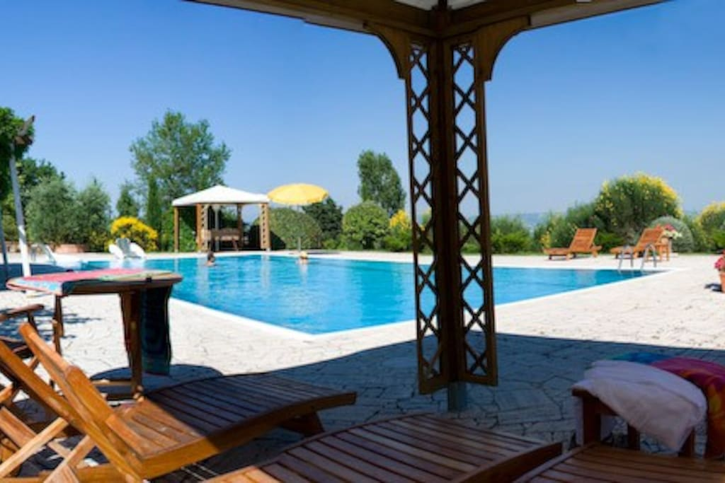 piscina esclusiva