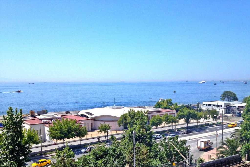 Pamper yourself in our well-appointed room overlooking the beutiful Marmara Sea after a long day...