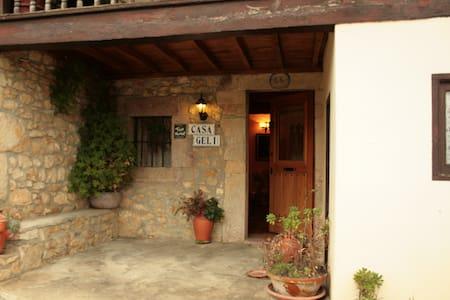 CASA RURAL CON ENCANTO EN COYA - Oriente de Asturias - Haus