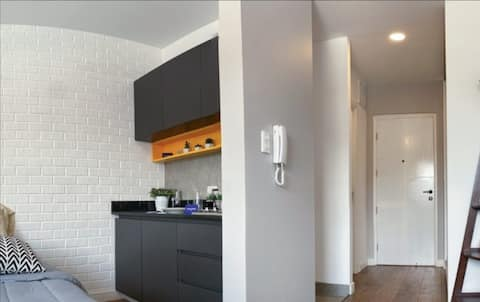 The unique style apartment