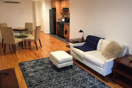 Beautiful private 1BR apt in Harlem - New York - Apartment