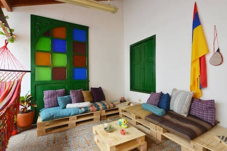 Bohemian House/Perfect Location 4 - Medellín - Pension