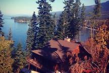 Flathead Lake waterfront vacation home