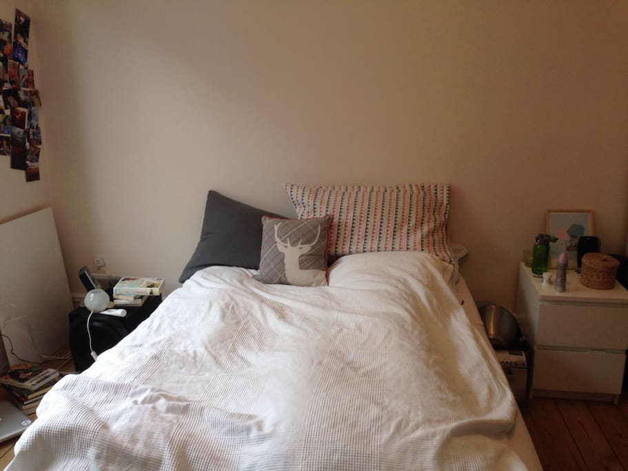 The room you can rent - more tidy when you arrive