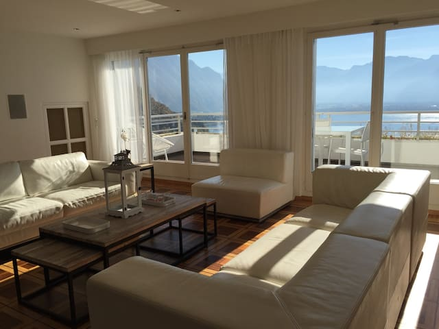 Beautiful apartment in Montreux with view - Montreux