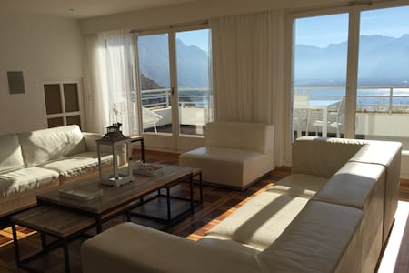 Beautiful apartment in Montreux with view - Montreux - Apartemen