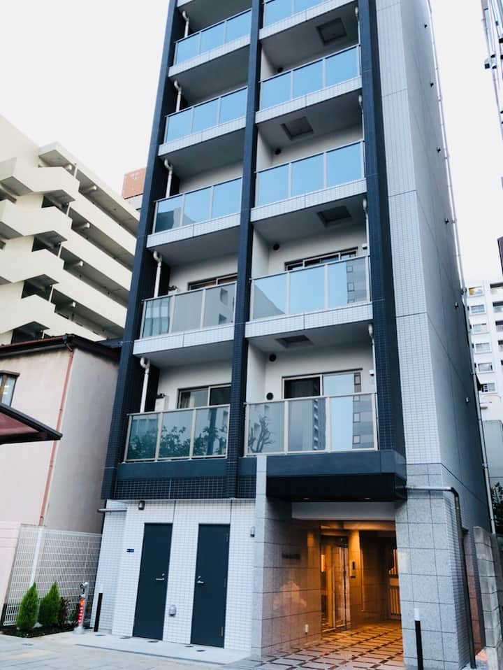 ★Free WiFi★New apartment! Very clean room! 5-1t