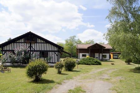 Grange dans la forêt landaise - Geloux