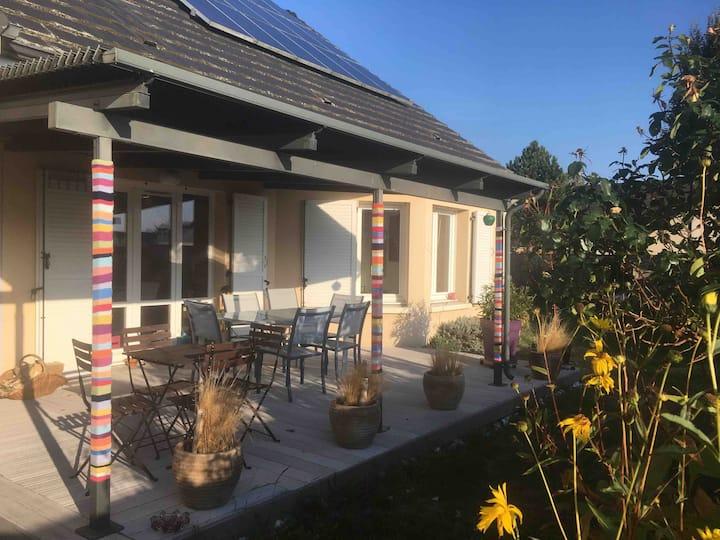 Bezannes chambre privée dans maison près de Reims