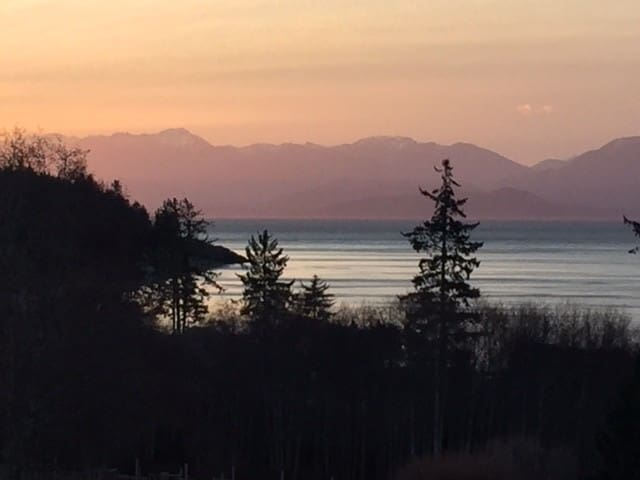 Luxury Ocean Oasis + Breathtaking Views on 6 acres - Sooke - Huis