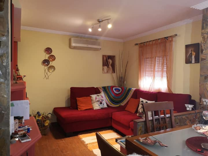 Apartamento completo árbol de vida con terraza