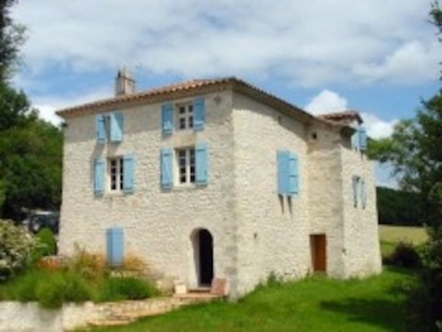 Maison en pierres du QUERCY - 8 couchages