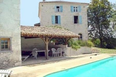Maison avec piscine privée - tennis - Roquecor