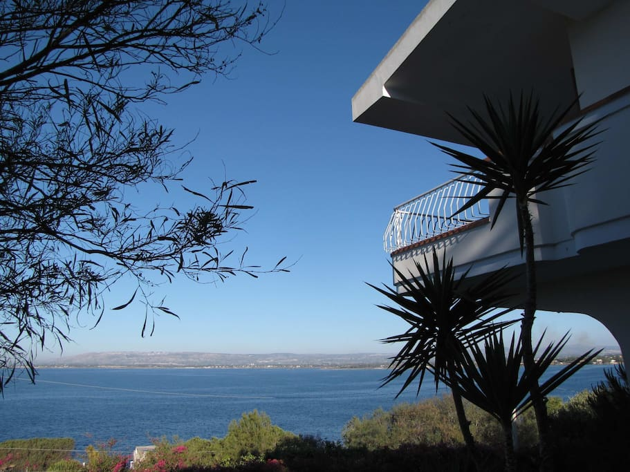 Seaview from the garden