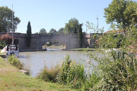 Suite indépendante à 50m du canal du midi ! - Castelnaudary