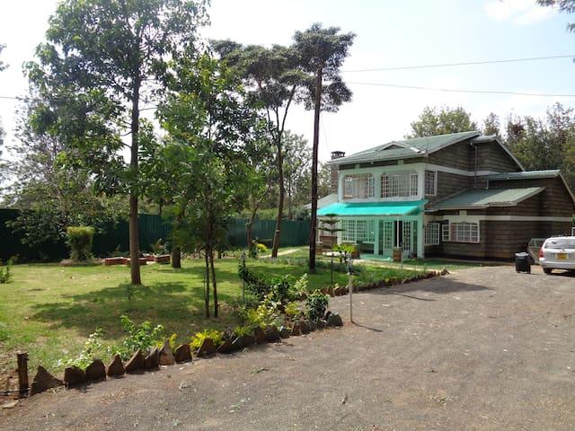Home in Nanyuki leafy surburbs