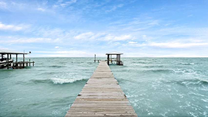 Galveston Bay with A View - Pool~Pier~Dock~Fish