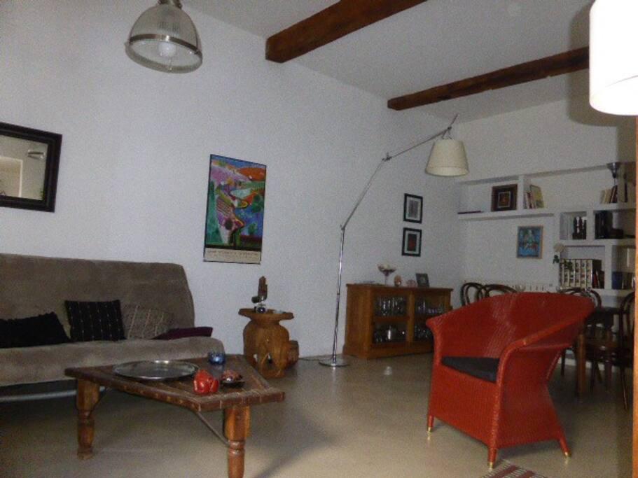 Grand salon de 40 m2