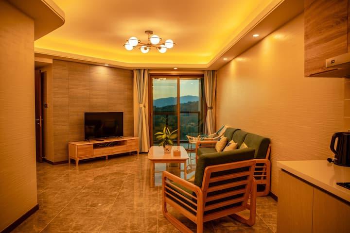 抚仙湖悦兴翡翠湾阅海北欧单卧套房,全新酒店式公寓 双阳台超大空间 全新享受