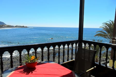 Schöne Wohnung direkt am Atlantik - Valle Gran Rey - Pis