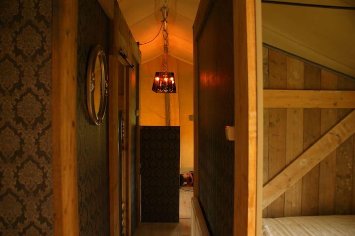 Nieuw!!luxe Glamping familie - Oostvoorne - Telt