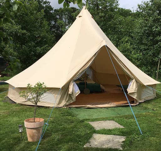 The Apple Farm Traditional Bell Tent 3