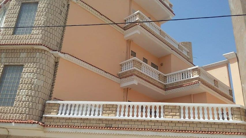 Oran Bousfer vue mer et montagne