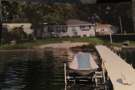 Lakefront Cottage 23 Miles from Notre Dame! - Bremen - Hus