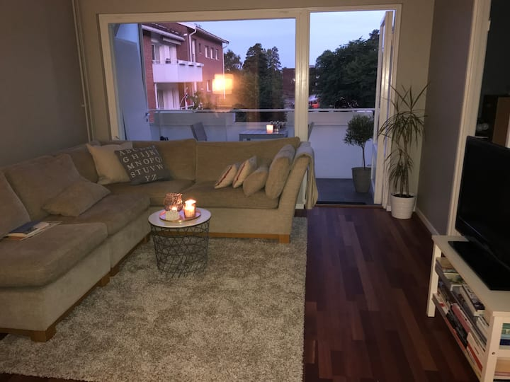 Cosy appartment for 1-3 persons in quiet area