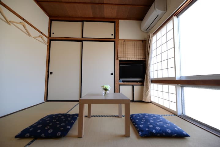 Destiny Inn Sakaiminato JPN style room harbor view